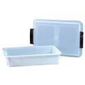 Comprar Recipiente Rectangular Plástico con Tapa Profesional