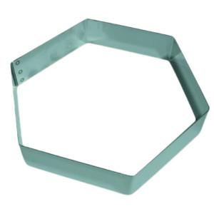 "Molde ""Mousse"" Hexagonal"