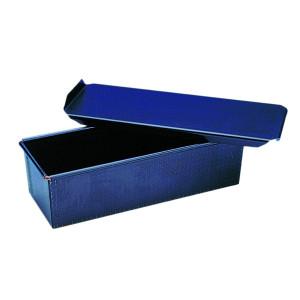 Molde Pan de Miga con Tapadera en Acero Azul