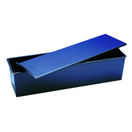 "Comprar Molde ""Lunch"" con Tapadera en Acero Azul"