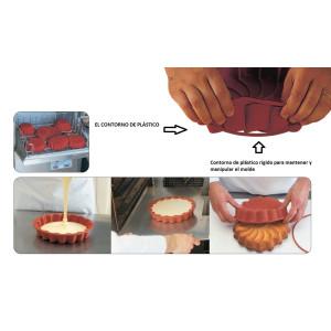 Molde para Plum Cake de Silicona Rectangular