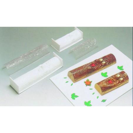 Comprar Molde para Helado de Plástico en Forma de  Tronco con Cara