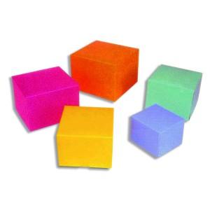 Comprar Caja cuadrada de colores para helados