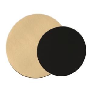 Comprar Discos carton dos caras Oro y Negro