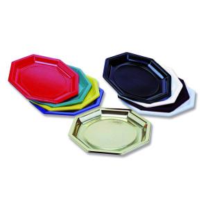 Comprar Plato de Plastico Octogonal
