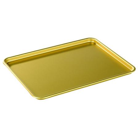 Comprar Bandeja para Escaparate de Aluminio Color Oro
