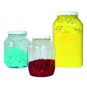 Botes de Plástico Transparentes