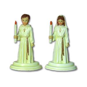 Comprar Estatuillas para Comuniones con Cirio y Túnica