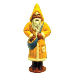 Molde de Policarbonato Papa Noel con Ropa Amarilla