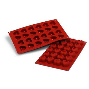 Comprar Molde de Silicona con Forma de 24 Savarín en Corazón