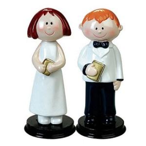Muñecos de Comunión para Tarta
