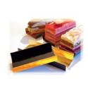 Comprar Bandejas con Pliegues Oro/Negro Rectangulares Profesional