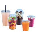 Comprar Tapaderas de Vasos Plástico Transparentes Ø 9,5 cm (50 ud)