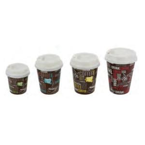 Comprar Vaso de Cartón Decorado para Bebidas Calientes (50 ud)