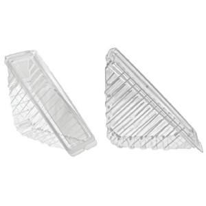 Envase triangular de plástico para sándwich