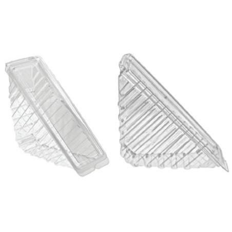 Comprar Envase triangular de plástico para sándwich