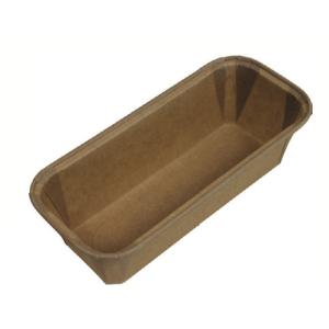 Moldes de cocina de papel rectangular