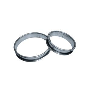 Molde inox circular para tartas