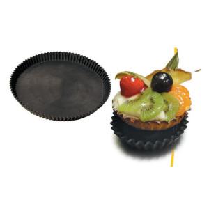 Moldes tarta composite redondo acanalado