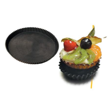 Comprar Moldes tarta composite redondo acanalado