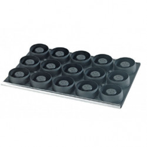 Comprar Placa de moldes composite para 15 tartaletas