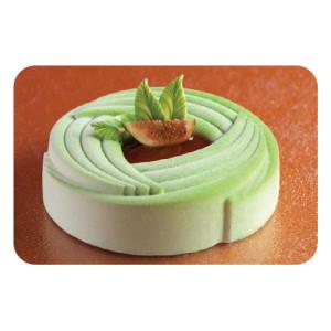 Molde de silicona Pavoflex - Flor Espiral