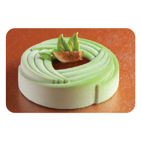 Comprar Molde de silicona Pavoflex - Flor Espiral