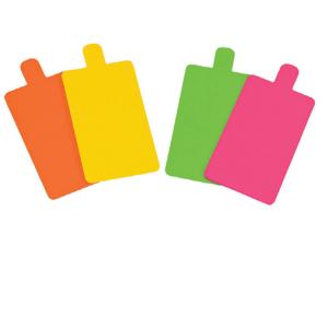 Bandeja rectangular de cartón de doble cara