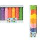 Moldes de papel de colores
