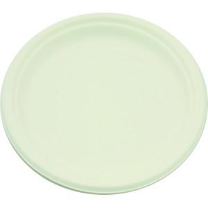 Comprar Plato Biodegradable de Caña de Azúcar Redondo (50 ud)