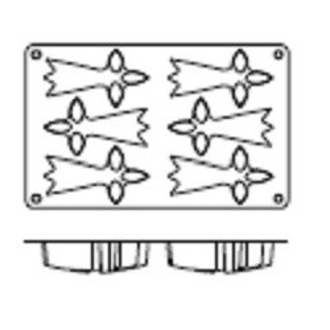 Molde de Silicona con Forma de 6 Armiños