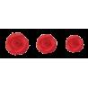Rosas Rojas de Azúcar