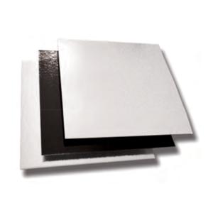 Comprar Soporte Cartón Bicolor Cuadrado para Postres (50 ud)