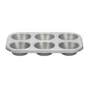 Comprar Placa 6 Moldes Muffins Antiadherente Profesional