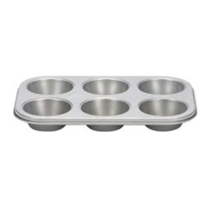 Comprar Placa 6 Moldes Muffins Antiadherente