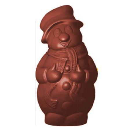 Comprar Molde Chocolate Muñeco Bufanda y Guantes