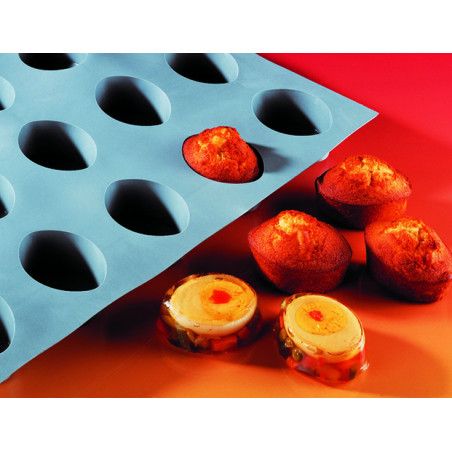 Comprar Molde de Espuma de Silicona con 6 Formas Ovaladas