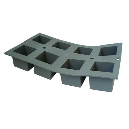 Comprar Molde de Espuma de Silicona con Forma de 8 Cubos