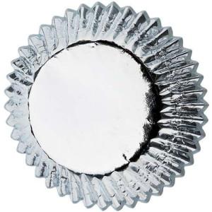 Cápsulas Hornear Papel Alumínio Plata Wilton