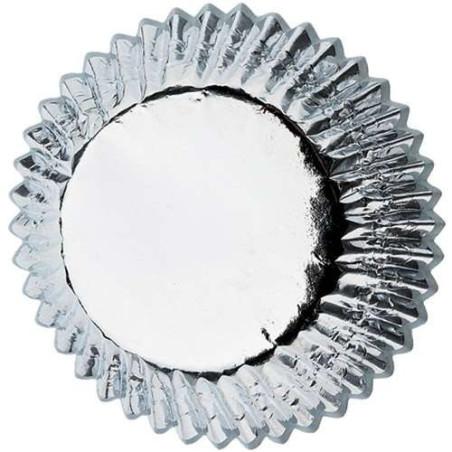Comprar Cápsulas Hornear Papel Alumínio Plata Wilton