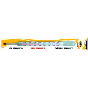 Termómetro de Alcohol -10 + 60° C
