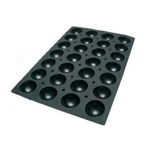 Molde de Silicona con Forma de 96 Semi Esferas