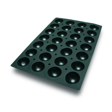 Comprar Molde con Forma de 28 Semi Esferas de Silicona