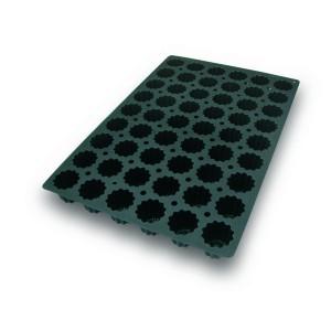 Molde de Silicona con Forma de 54 Burdeos