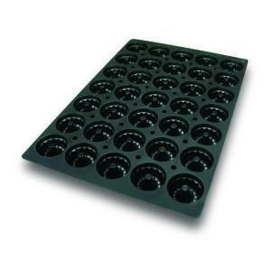 Molde con Forma de 35 Kougloffs de Silicona