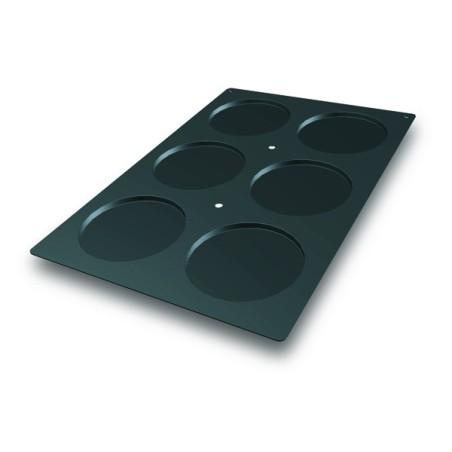 Comprar Molde de Silicona con Forma de 6 Discos para Bizcochos