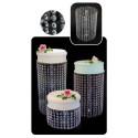Comprar Set Soporte Pastel Cristales 5 Piezas Profesional