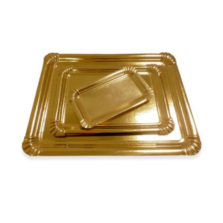 Comprar Bandeja de Cartón Color Oro