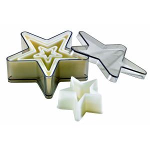 Comprar Caja 5 Cortadores de Estrella de 5 Puntas