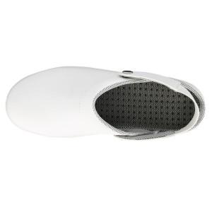 Zueco Profesional Microfibra blanco